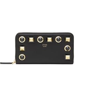 [스페셜오더]FENDI-8M0299 펜디 투톤 골드 에디션 지퍼 어라운드 장지갑