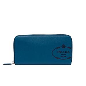 [스페셜오더]PRADA-2ML317 프라다 실크스크린 로고 지퍼지갑